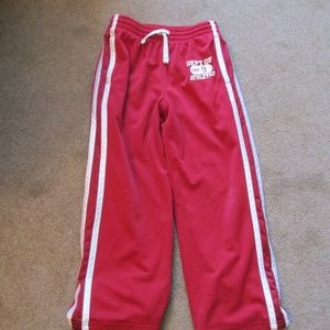 GAP KIDS RED ATHLETIC PANTS
